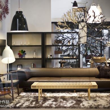 家具专卖店设计效果图大全欣赏