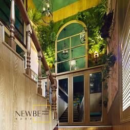 咖啡厅楼梯设计图片