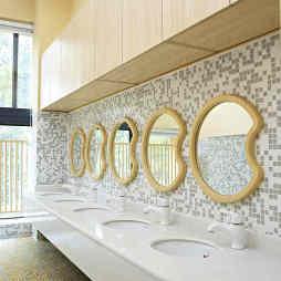 幼儿园卫生间洗手台设计