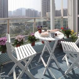 复式地中海阳台设计