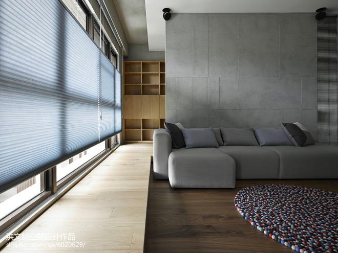 现代简约风格窗台装修设计
