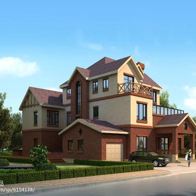 现代别墅外观图