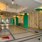 幼儿园走廊装修图片