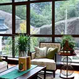 中式窗台图片