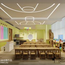 时尚幼儿园课室设计