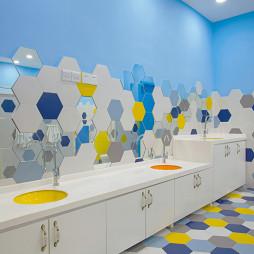 公装幼儿园洗手台设计