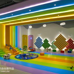 公装幼儿园游玩区设计