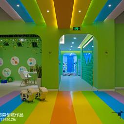 公装幼儿园过道设计