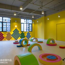 公装幼儿园玩具区设计