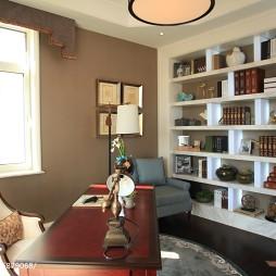 美式风格样板间书房设计