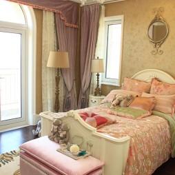 样板间美式风格卧室设计