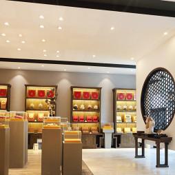 中式茶叶店设计