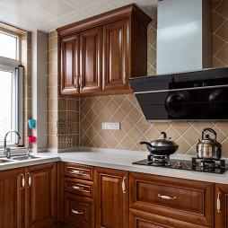 现代美式厨房装修效果图大全