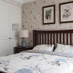 现代美式卧室衣柜设计