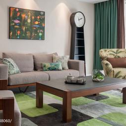 现代简约设计客厅家装效果图