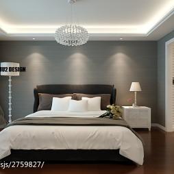现代家装卧室设计