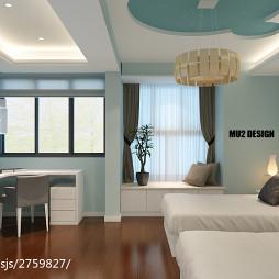 现代家装飘窗设计