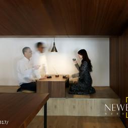 现代美式办公室榻榻米设计