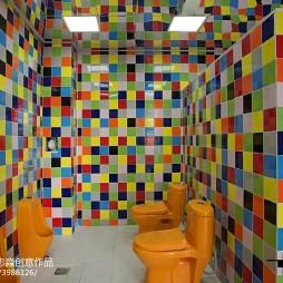 时尚幼儿园卫生间设计