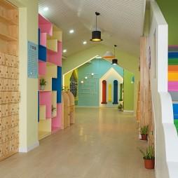 公装幼儿园走廊设计