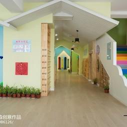 时尚幼儿园过道设计