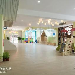 时尚幼儿园休闲区设计
