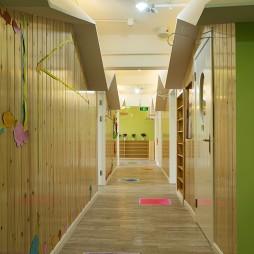 公装幼儿园过道设计图