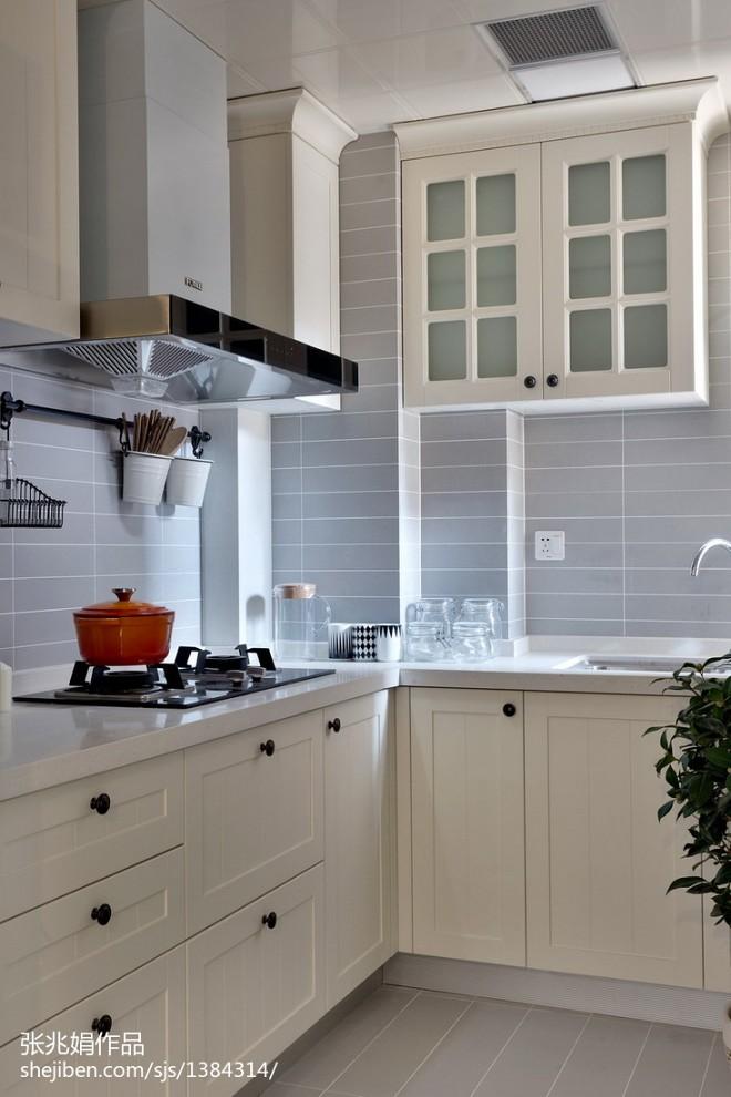 北欧风格厨房装修设计图