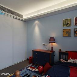 现代简约家装照片墙设计