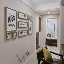 现代简约照片墙设计
