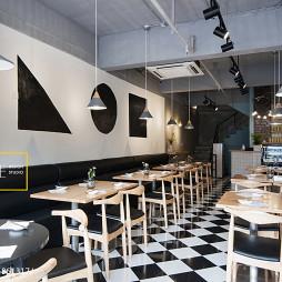 中式风格茶餐厅餐桌设计