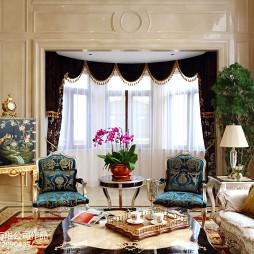 欧式格调窗帘设计