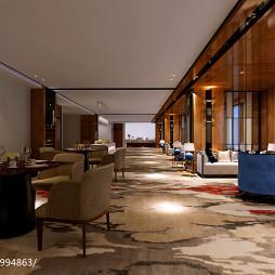 混搭风酒店餐厅设计