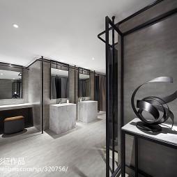 现代体育馆卫浴设计