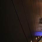 智能安防展厅楼梯设计