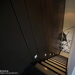 honeywell智能安防展厅楼梯设计
