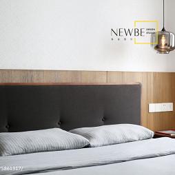 简约风卧室背景墙设计