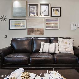 美式风沙发背景墙装修图设计