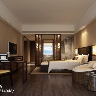 江西明月山温泉禅修度假村酒店客房设计_2239624