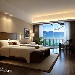 江西明月山温泉禅修度假村酒店客房设计_2239625