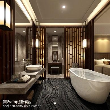 江西明月山温泉禅修度假村酒店客房设计_2239626