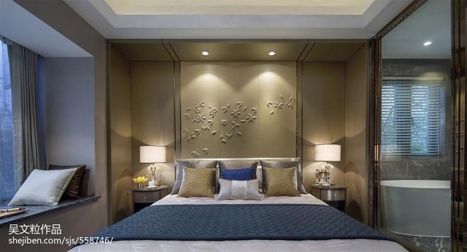 简约风格家装卧室背景墙设计