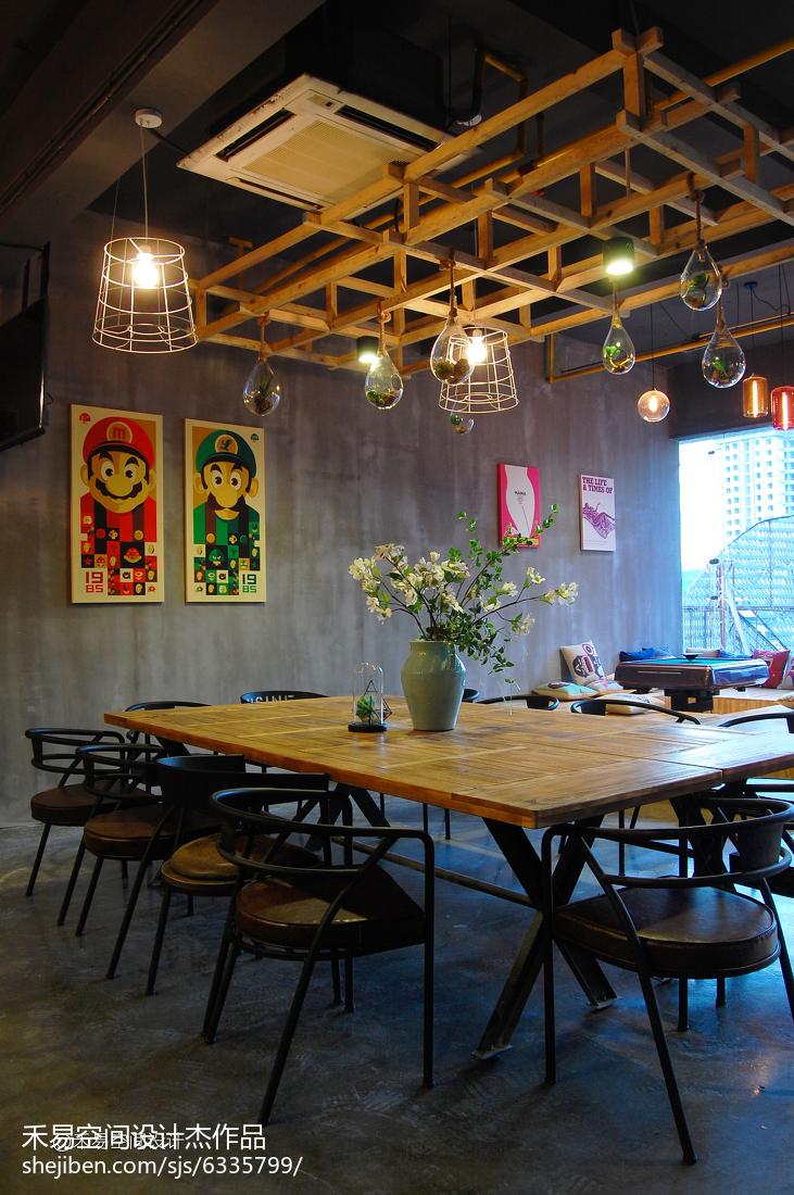 娱乐资讯_BEES蜂潮轰趴馆餐厅装修图 – 设计本装修效果图
