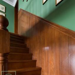 美式格调楼梯设计