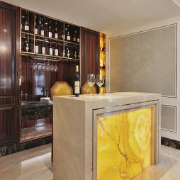新古典别墅居家吧台设计