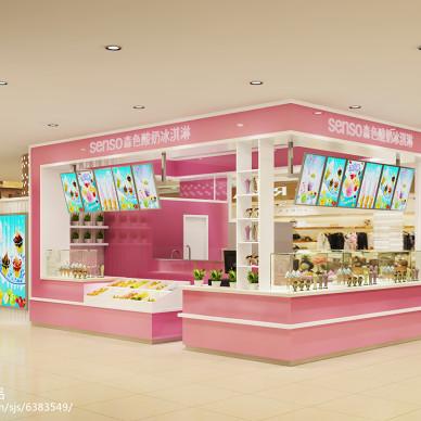 商场冰淇淋小吧_2256116