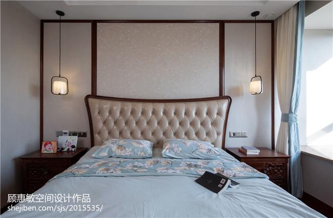 中式清爽卧室设计装修