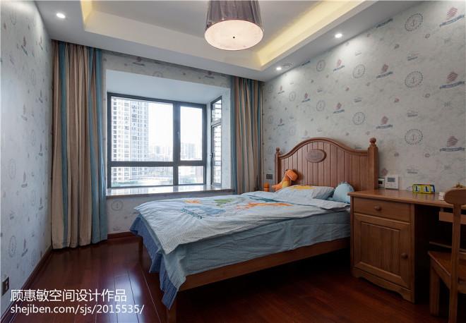 中式清爽儿童房设计装修