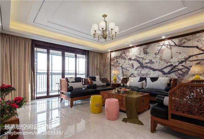 中式客厅效果图设计