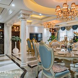 欧式家装餐厅设计